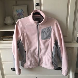 Eddie Bauer Pink WinterCutter Fleece Jacket